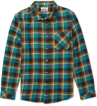 Billabong Men's Fremont Plaid Flannel Shirt