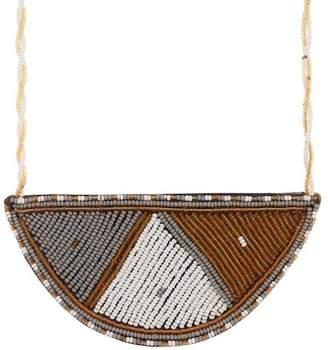 Soko Maasai Half Moon Pendant Necklace