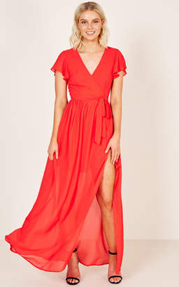Showpo Ever After Dress in red