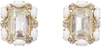 One Kings Lane Vintage Hattie Carnegie Rhinestone Earrings - Carrie's Couture