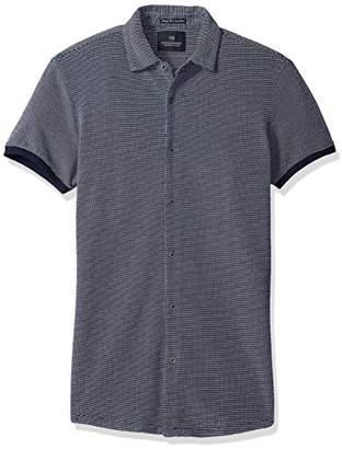 Scotch & Soda Men's Shortsleeve Shirt in Pique Quality