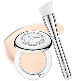 It Cosmetics Confidence in a Compact with Brush