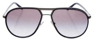 Prada Aviator Tinted Sunglasses