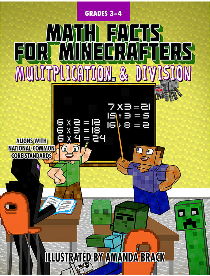 Grades 3-4 Math Facts for Minecrafters Workbook