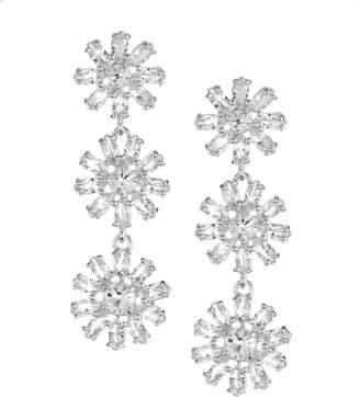 Kate Spade Crystal Gardens Linear Earrings