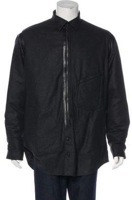Y-3 Leather-Accented Jacket