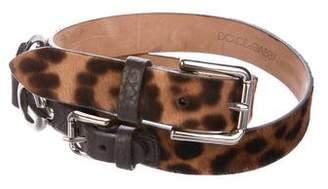 Dolce & Gabbana Logo Embellished Belt