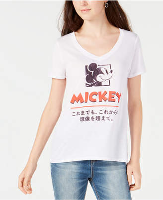 Modern Lux Juniors' Disney Mickey Mouse Graphic T-Shirt