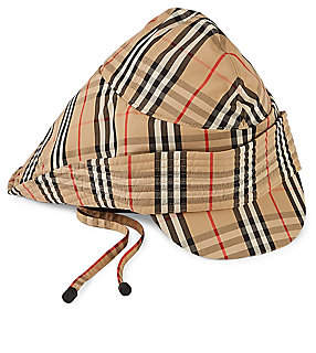 aa4731f5 Burberry Women's Vintage Check Rain Hat