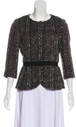 Giambattista Valli Accented Long Sleeve Blazer