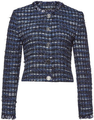 Moschino Tweed Blazer with Cotton