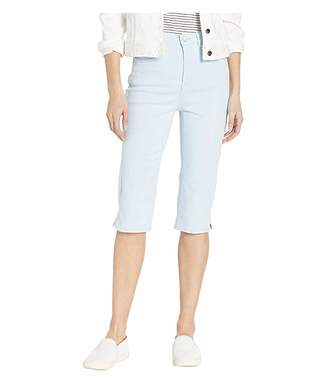 FDJ French Dressing Jeans Solid Cool Twill Suzanne Pedal Pusher in Sky