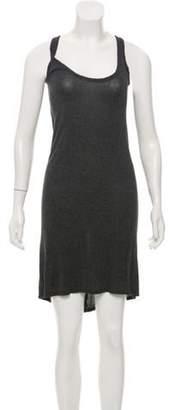 The Row Sleeveless Shift Dress Grey Sleeveless Shift Dress