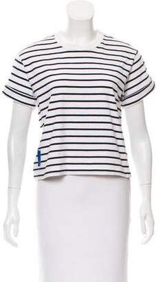 Rag & Bone Short Sleeve Striped Top