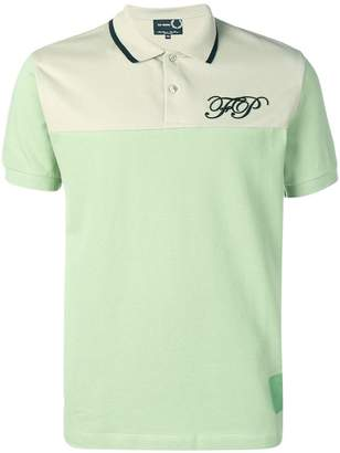Fred Perry embroidered initial polo shirt
