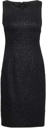 Talbot Runhof Sequined Jacquard-knit Dress