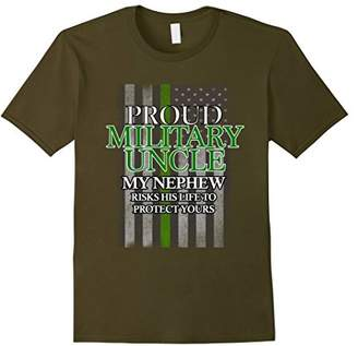 Proud Military Uncle T-Shirt - Nephew Soldier