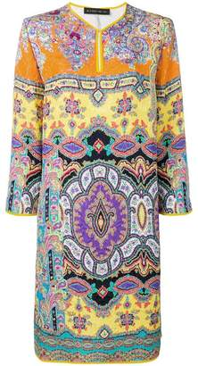 Etro printed tunic dress