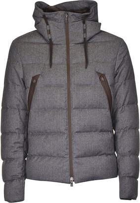 Herno Mid Slit Zip Pocket Padded Jacket