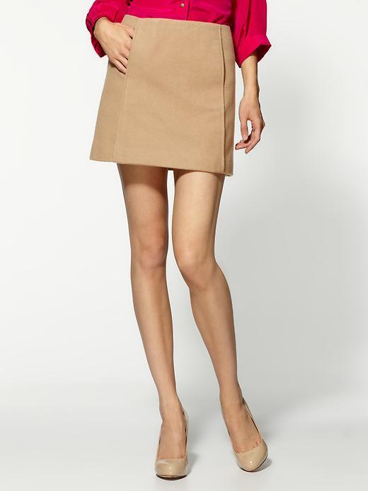 Joie Nisa Melton Wool Skirt