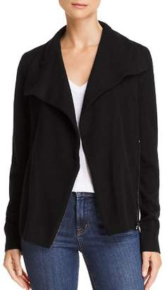 Bloomingdale's C by Cashmere Moto Cardigan - 100% Exclusive