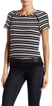 Tart Nina Textured Striped Tee