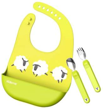 Baby Essentials Kidsme DELUXE DINING SET, LIME