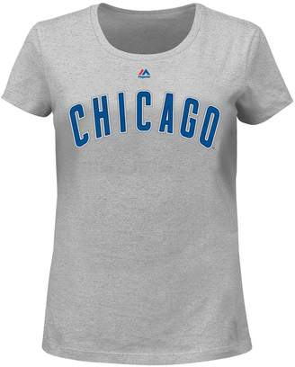 Majestic Plus Size Chicago Cubs AC Team Property Tee