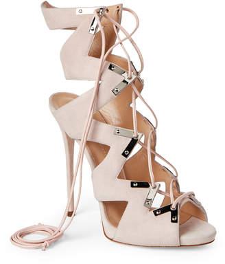 Giuseppe Zanotti Magnolia Coline Suede Lace-Up Sandals