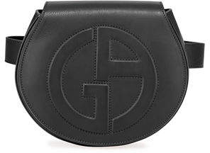 Giorgio Armani Small Leather Logo Belt Bag