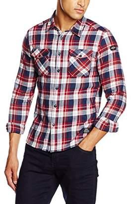 Schott NYC Men's Shranchml Slim Fit Casual Shirt