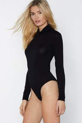 Nasty Gal What In the Neck Bodysuit