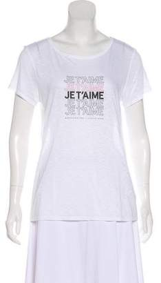 Jennifer Meyer Short Sleeve Graphic T-Shirt