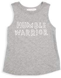 Spiritual Gangster Girl's Humble Warrior Muscle Tank Top