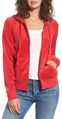 Women's Juicy Couture Robertson Velour Hoodie
