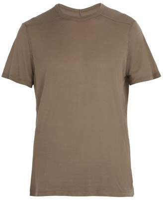 Rick Owens Crew Neck T Shirt - Mens - Grey