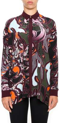 Versace Baroccoflage Silk Shirt