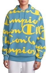Champion All Over Print Hooded Sweatshirt