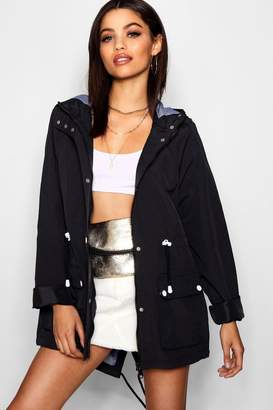 boohoo Hooded Festival Mac