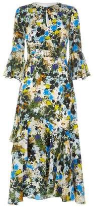 Erdem Florence Floral Midi Dress