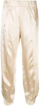 Zero Maria Cornejo elasticated cropped trousers
