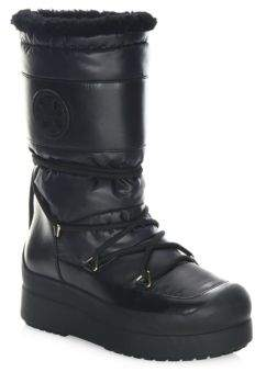 Tory Burch Cliff Cold Weather Boots