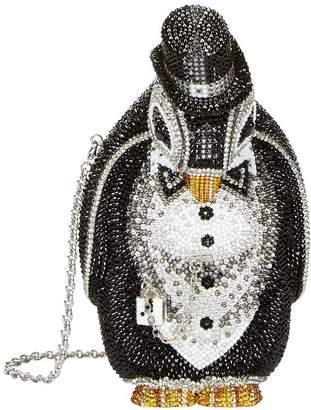 Judith Leiber Crystal Penguin Clutch