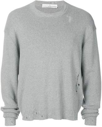 Golden Goose distressed detail sweater