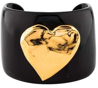 Christian Lacroix Vintage Heart Cuff