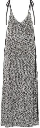 Loewe Lurex knit maxi dress
