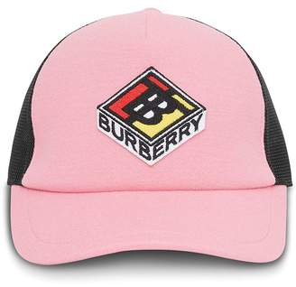 Burberry Logo Graphic Baseball Cap