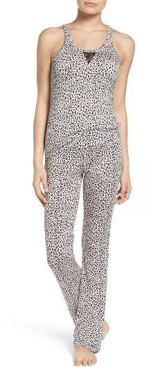 Betsey JohnsonWomen's Betsey Johnson Mesh Inset Pajamas