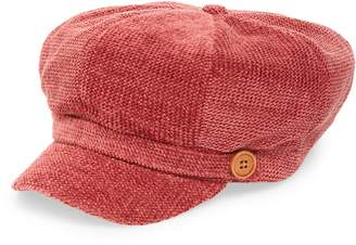 David & Young Chenille Baker Boy Cap