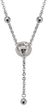 Star Wars FINE JEWELRY Stainless Steel 3D Death Star Necklace